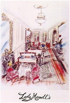 """Lady Mendl's Tea Salon, New York. """"Any minute, one expects Sherlock Holmes to pop into Lady Mendl's Tea Salon to ask Edith Wharton a question. An absolutely charming establishment tucked away inside New York City's Inn at Irving Place."""""""
