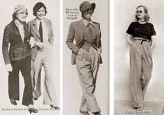Fashionistas tales: Women and Pants - the history