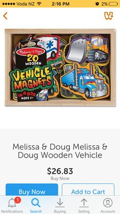 Melissa & Doug, Kids Toys, Buy And Sell, Candy, Stuff To Buy, Sweet, Toffee, Children Toys, Candy Notes