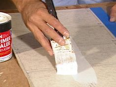 How to Paint Vinyl Flooring  Vinyl flooring can be painted, but there are a few important steps to ensure the paint goes on properly.