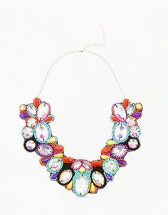 Bershka México - Collar piedras