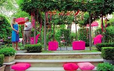 Elspeth Thompson's garden choice. This week: a festive outdoor space.