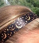 One Up Jack O' Lantern Halloween Non Slip Headband