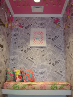 """Lilly Pulitzer Towson Town Center - our """"crabby"""" dressing room.   Join us for our Grand Opening weekend - this Saturday & Sunday and see it for yourself!"""