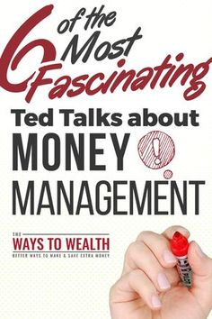 6 Must-See Inspirational TED Talks about personal finance, money management, and getting out of debt. Want to feel inspired? Watch these six ted talks about money, personal finance, and happiness to get your finances on track. Budgeting Finances, Budgeting Tips, Money Tips, Money Saving Tips, Saving Ideas, Money Hacks, Money And Happiness, Budget Planer, Managing Your Money