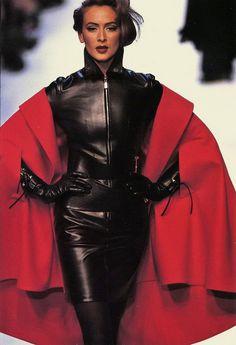 Lisa Graham - Claude Montana - #lexeecouture