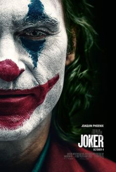 Joker Directed by Todd Phillips - starring Joaquin Phoenix, Robert De Niro et al, presnted by Box Office Films - film and movie box office details with weekly chart and lifetime grosses. Vote films up or down and leave your comments. Le Joker Batman, The Joker, Joker Art, Joker And Harley, Joker Comic, Superman, Gotham Joker, Batman Arkham, Batman Art