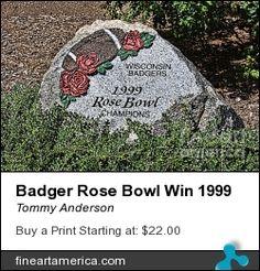Wisconsin Badgers 1999 Rose Bowl Win