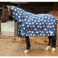 Rhinegold - Full Neck Torrent Turnout Rug 600 Denier Ripstop outer fully cotton lined with no polyfill fixed neck cover Waterproof breathable no My Horse, Horse Tack, Horses, Horse Rugs, Winter Blankets, Star Designs, Pony, Stars, Horse Stuff