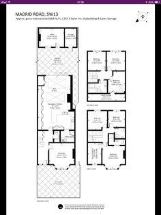 Check out this property for sale on House Extension Plans, House Extension Design, Extension Designs, House Design, Victorian Townhouse, Victorian Terrace, Victorian Homes, House Layout Plans, House Layouts