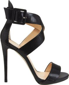 Giuseppe Zanotti - Classy, Sexy, and all around versatile in one badass Strappy Sandal! I drool.