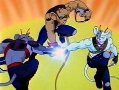 Biker Mice From Mars (I've never watched the show, but my older brother did...)