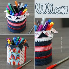 creat.ING[dh]: Lilian... Tin Can Crafts, Diy Crafts, Space Crafts, Craft Space, Altered Tins, Jar, Tin Cans, Canning, Mugs