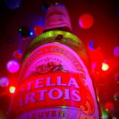 Stella Artois if I have to have a beer it is STELLA!