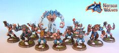Norse blood bowl team