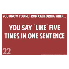 you know you're from california when... ❤ liked on Polyvore