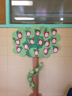 """Adam and Eve """" the first sin"""" Apple craft"""