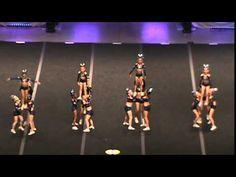 Mini Elite of the California All-Stars - San Marcos Cheer Jumps, Cheer Stunts, Cheer Dance, Cheerleading, All Star Cheer, Cheer Mom, Cheer Routines, Champions League, Wild West