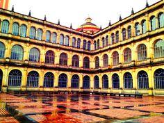 #Bogotá #instagramyourcity @SmwBog dentro del colegio la merced se encuentra la Sixtina Bogotana by @ricaroch