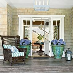 Perfect Entry Porch