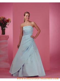 Kleid blau Braut