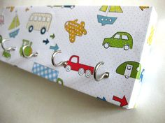 Pretty sure even I could make this myself. Key Rack and Hat Rack   Transportation   Cars by ElegantQuirk, $15.00