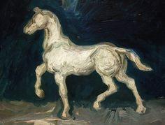 Vincent van Gogh - Plaster Figurine of a Horse - 1886