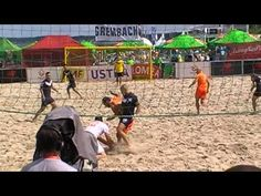 Grembach Łódź vs. KP Łódź - BEACH SOCCER (USTKA 2015)