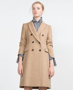 Image 3 of MASCULINE COAT from Zara