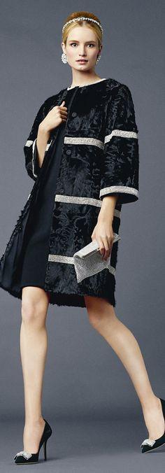 Dolce & Gabbana, Spring/Summer 2014, Dark Blue,