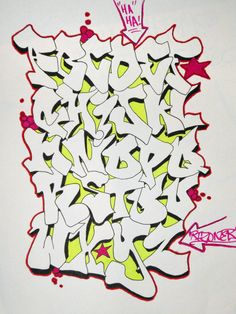 graffiti alphabet | Tumblr