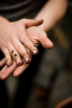 ♕ a gardener's hands | Ann Street Studio