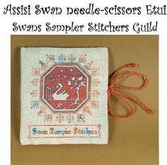 Assisi Swan Etui Pattern in PDF