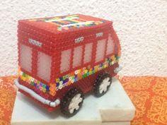 Furgoneta 3D  hama beads