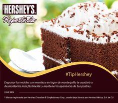 Hershey's® Repostería tiene para ti los mejores tips. #Hersheys #Chocolate #InspiraSonrisas #Repostería #Postres #Receta #DIY #Bakery #Pastel
