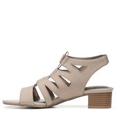 Lifestride Women's Meaning Medium/Wide Dress Sandals (Stone)
