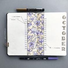 Kimmy's Bullet Journal Monthly Log