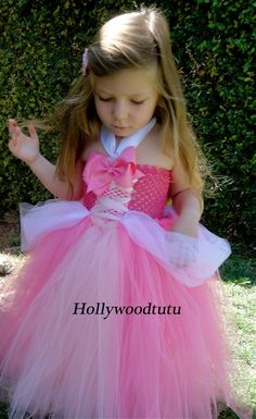Princess Aurora sleeping beauty  tutu dress costume. by hollywoodtutu
