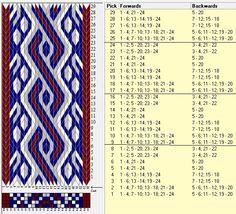 24 tarjetas, 4 colores, repite cada 8 movimientos // sed_438a diseñado en GTT༺❁