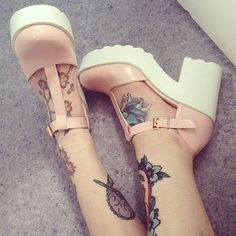 Shop from the best fashion sites and get inspiration from the latest kawaii shoes. Pastel Shoes, Pink Shoes, Pastel Goth, Pastel Pink, Pastel Grunge, Pretty Shoes, Beautiful Shoes, Shoe Boots, Shoes Heels