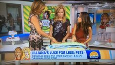 Style expert Lilliana Vazquez shows the ladies ways to pamper your pooch without burning a hole in your wallet. #originaldigsllc #pets #todayshow #luxeforless