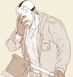 The curse of Jason Horror Villains, Horror Movie Characters, Horror Movies, Jason Voorhees, Arte Horror, Horror Art, Slasher Movies, Horror Icons, Fanart