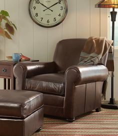 Beanu0027s Leather Lodge Chair: Chairs At L.L.Bean