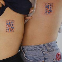 Blue Ink Tattoos, Mini Tattoos, Small Tattoos, Small Infinity Tattoos, Simplistic Tattoos, Unique Tattoos, Cool Tattoos, Tatoos, Dream Tattoos