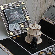 """Exploding box - pudełko """"eksplodujące"""" - ręcznie wykonane życzenia na 40 urodziny. Playing Cards, Decor, Decoration, Playing Card Games, Decorating, Game Cards, Playing Card, Deco"""