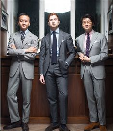 Never Enough Grey Suits ! The Armoury