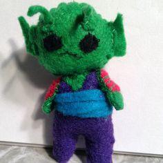 Piccolo Jr. Felt toy dragon Ball Z craft