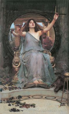 John William Waterhouse, 'Circe offering the cup to Ulysses'
