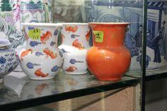 Ceramic vases from Beijing, China