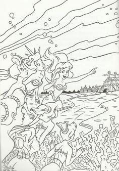 the little mermaid  the beautiful kingdom  atlantica